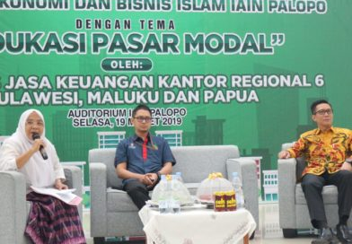FEBI Gelar Seminar Sehari Bersama OJK Kantor Regional 6 Sulawesi, Maluku dan Papua
