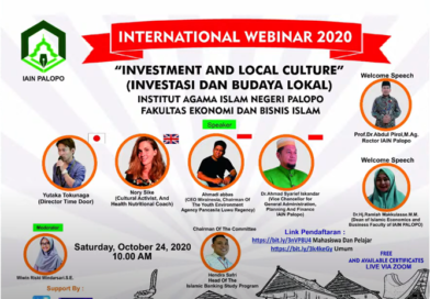 "Webinar Internasional ""Investment and Local Culture"" FEBI IAIN Palopo"