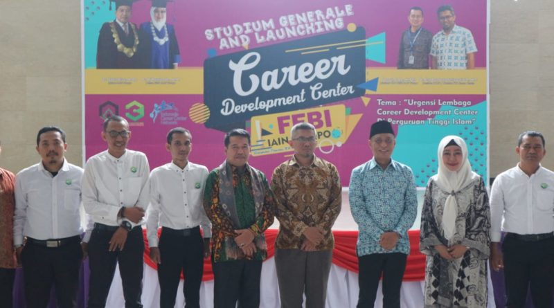 Lounching Career Development Center (CDC) FEBI