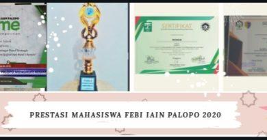 Prestasi Mahasiswa FEBI IAIN Palopo Tahun 2020