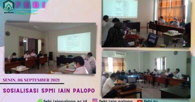 Sosialisasi SPMI IAIN Palopo